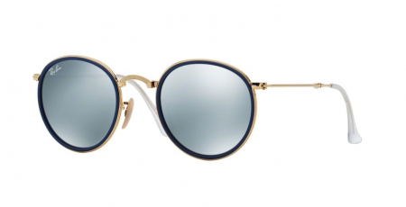 RAYBAN - 0RB3517 ROUND **FOLDABLE**