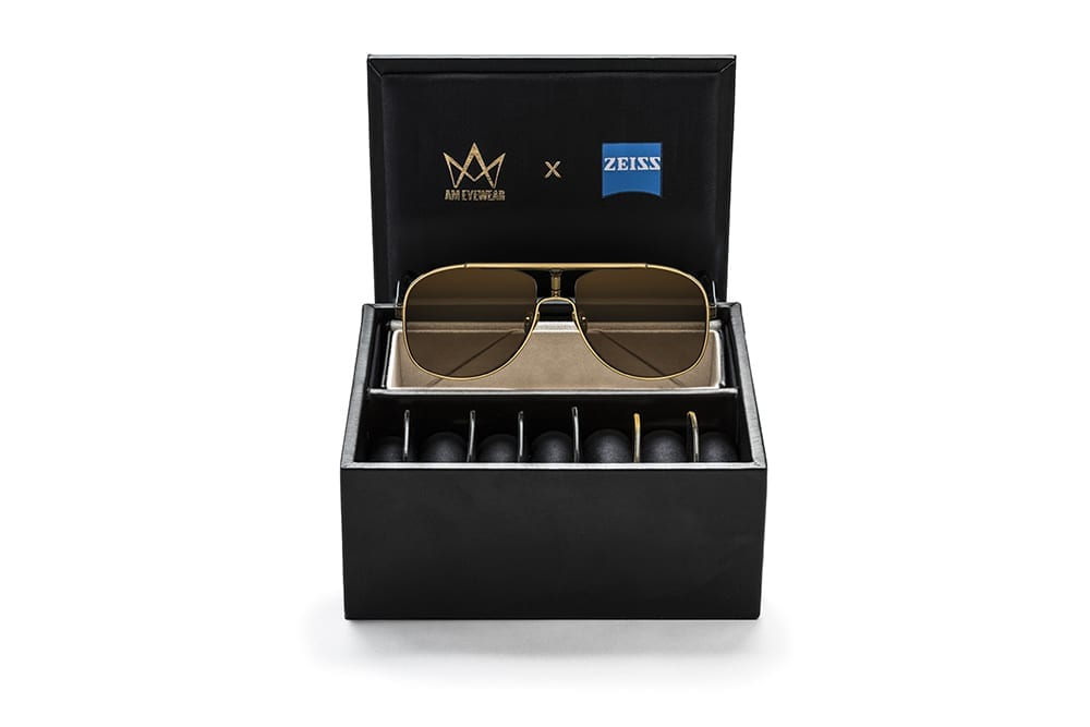 AM EYEWEAR - CARMEN x 4 lenses Luxury collectors case
