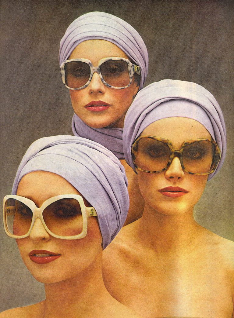 Yves Saint Laurent Ad- Vogue May 1976